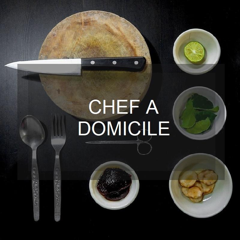 Chef a domicile