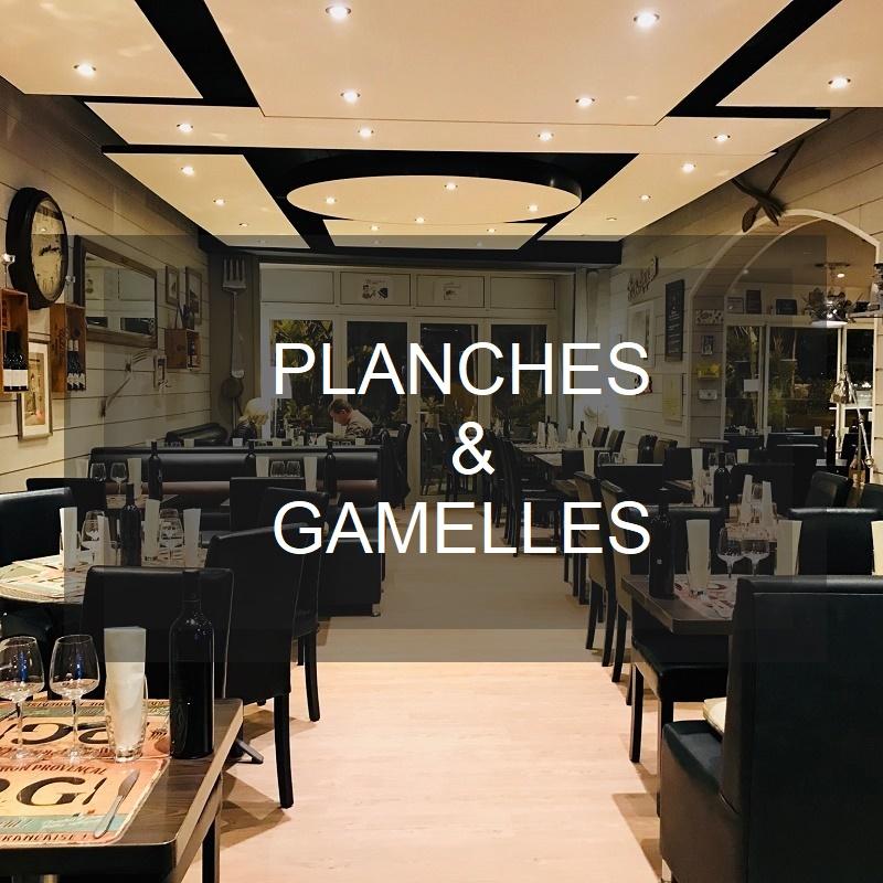 Planches et Gamelles